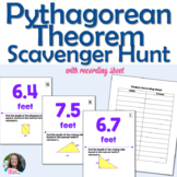 Pythagorean Theorem Scavenger Hunt Activity