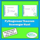 Geometry - Pythagorean Theorem Scavenger Hunt