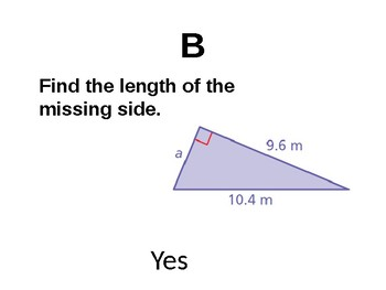 Pythagorean Theorem Scavenger Hunt Activity