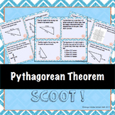 Pythagorean Theorem Task Cards (Scoot!)