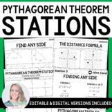 Pythagorean Theorem Stations