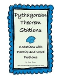 Pythagorean Theorem Stations - Math Centers