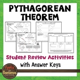 Pythagorean Theorem - Student Review Activities