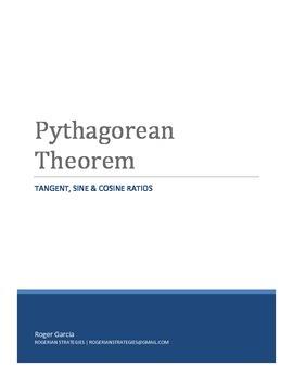 Pythagorean Theorem - Tangent, Sine & Cosine Ratios