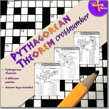 Pythagorean Theorem Task (CROSSNUMBER)