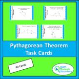 Geometry - Pythagorean Theorem Task Cards