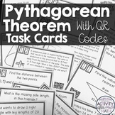 Pythagorean Theorem Task Cards with QR Codes!