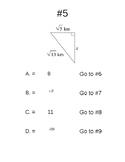 Pythagorean Theorem Trail Run