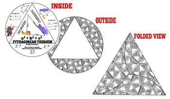Pythagorean Theorem Triangle Foldable