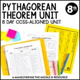Pythagorean Theorem Unit: 8th Grade Math (8.G.6, 8.G.7, 8.G.8)
