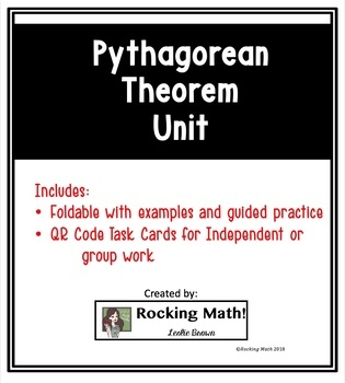 Pythagorean Theorem Unit