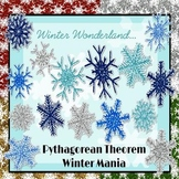 Pythagorean Theorem: Winter Mania PowerPoint Game