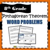 Pythagorean Theorem Word Problems - 8.G.7
