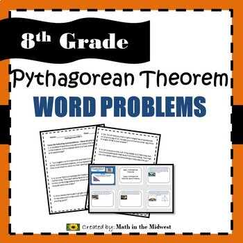 Pythagorean Theorem Word Problems - 8.G.7
