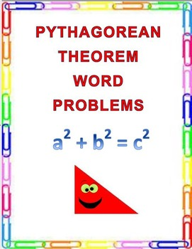 Pythagorean Theorem Word Problems  8.G.B.7