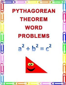 Pythagorean Theorem Word Problems  8.G.B.7