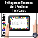Pythagorean Theorem Word Problems Digital Activity