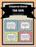 Pythagorean Theorem Word Problems - Task Cards