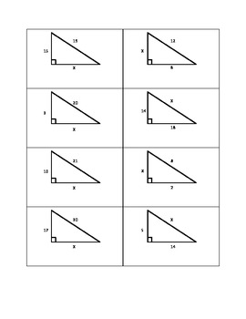 pythagorean theorem worksheet by bryan teachers pay teachers. Black Bedroom Furniture Sets. Home Design Ideas