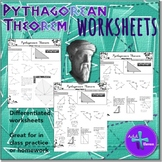Pythagorean Theorem (WORKSHEETS)