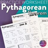 Pythagorean Theorem (WORKSHEETS)