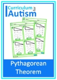 Pythagorean Theorem with Scaffolding Autism Special Education