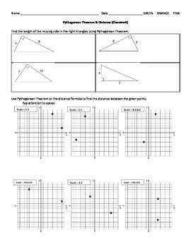 Pythagorean Theorem and Distance
