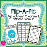 Pythagorean Theorem Stations - Flip-a-Pic Activity