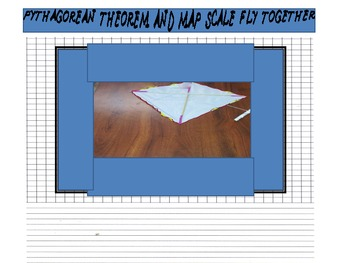 Pythagorean Theorem and Map Scale Fly Together