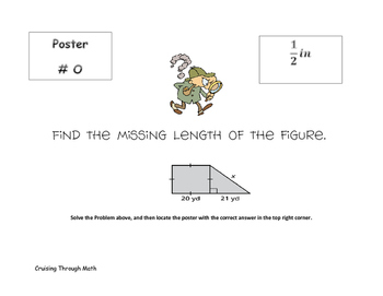 Pythagorean Theorem and Real Numbers Scavenger Hunt