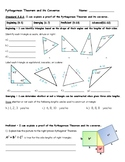 Pythagorean Theorem and its Converse Assessment - 8.G.6