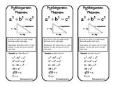 Pythagorean Theorem bookmark