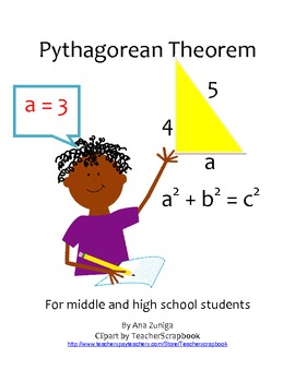 Pythagorean Theorem for Middle and High School