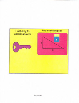 Pythagorean Theorem for the Smartboard 2