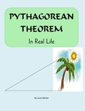 Pythagorean Theorem in Real Life ~ Common Core 8.G