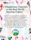 Pythagorean Theorem in the Real World Fencing Project