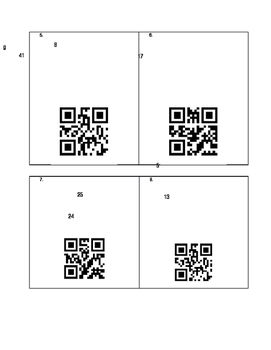 Pythagorean Theorem to find Missing Sides QR Codes