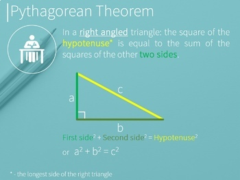 Pythagorean Theorem with animated proofs