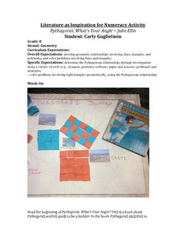 Pythagorean Theory - Using literature and a hands on approach