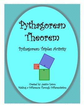Pythagorean Triples Activity