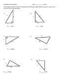 Pythagorean's Theorem Color by number