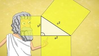 Pythagorean theorem - an animated movie