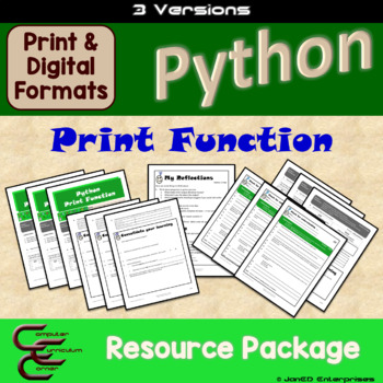 Python 1 A Print Command 3 Version Package