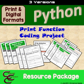 Python 1 C Output Culminating Activity 3 Version Package
