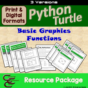 Python 2 A Turtle Draw Commands 3 Version Package