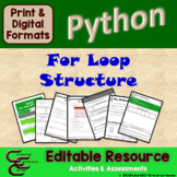 Python 2 C For Loop Structure Package