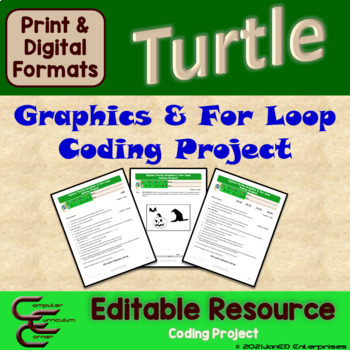 Python 2 D For Loop Culminating Activity Package