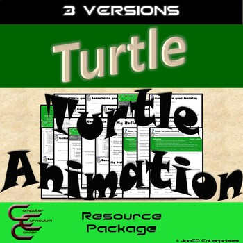 Python 3 A Turtle Animation 3 Version Package