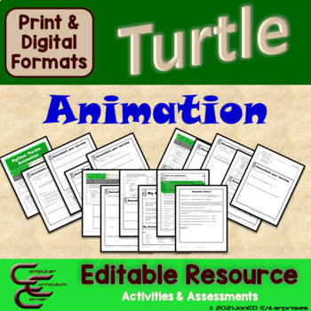 Python 3 A Turtle Animation Package