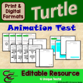 Python 3 C Turtle Animation Test Package
